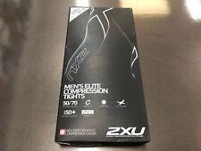 2XU Men's Elite Compression Tights Large Black (NEW IN BOX)