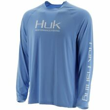 HUK PURSUIT VENTED LS Performance Fishing Sun Shirt - Pick Color/Size -Free Ship
