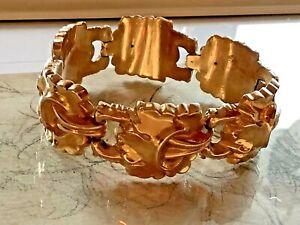 Biedermeier Schaumgold, Gold Armband, 33 Gramm!