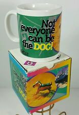 Monopoly Game Coffee Mug Peice Collectors Not Everybody Can Be The Dog