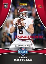 2018 Panini Instant NFL RC Draft Night BAKER MAYFIELD Browns ROOKIE #1 Overall