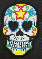 Sugar Skull Embroidered Headcover - Black or White, Driver or Fairway