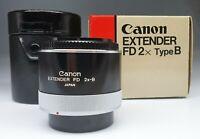 CANON EXTENDER FD 2X Type B