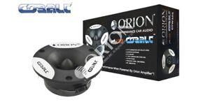 ORION CTW101 200W Cobalt Series Bullet Tweeter/Car/Speakers 1.25 INCH Pair NEW!