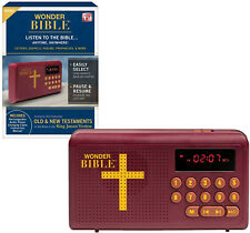 Wonder Bible Audio Player Contains new and old Testaments of the king James.