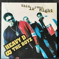 Heavy D. & The Boyz CD Single This Is Your Night - France (EX+/EX+)