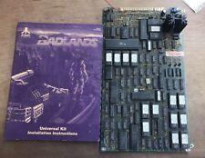 Badlands With Manual Pcb Arcade Board 100% Working Atari