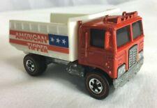 Hot Wheels REDLINE American Tipper Dump Truck 1973