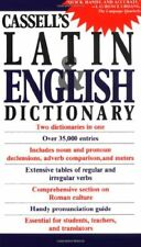 Cassell's Concise Latin-English, English-Latin Dictionary