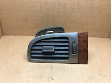 OEM 07-14 FULL SIZE GM TRUCKS SUVs OUTER LEFT DRIVER AIR VENT WOOD TRIM PLATE