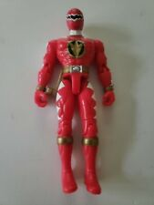 Power Rangers Dino Thunder - Red Talking Thunder Power Ranger Bandai 2004 Loose