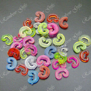 LOOM BANDS REPLACEMENT C CLIPS ACCESSORIES FOR LOOM BANDS