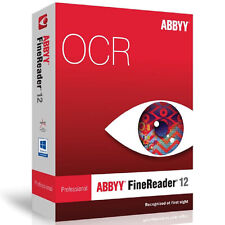 Abbyy Finereader 12 Pro / Professional for Windows, Instant Download Delivery