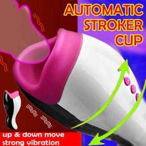 Automatic Sucking Male Masturbator Cup Pussy Handsfree Blowjob Sex toy Vibrator