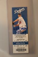 Los Angeles Dodgers Ticket Stub Vs. Giants September 20, 2011 Kershaw 20 Wins