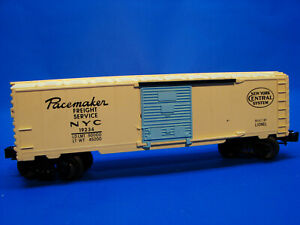 Rare Pastel Yellow Factory Error 1991 Lionel 19234 Girls 6464-510 NYC Boxcar, C9