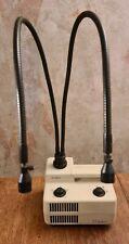 Schott Kaltlichtquelle KL 1500 mit 2 Fach Schwanenhals