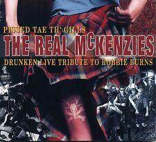 Real McKenzies - Pissed Tae Th' Gills: A Drunken Live Tribute... CD GERMAN PRESS