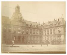 France, Le Havre, Hôtel de Ville  vintage citrate print Tirage citrate  10x1