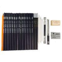 Sketching Pencil Pen Art and Design for Drawing, Sketching (30 pcs x 2 Set)