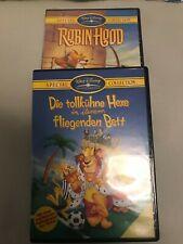 Robin Hood-Die tollkühne Hexe- 2 DVD-neuwertiger Zustand-Walt Disney