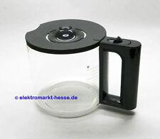 Siemens Glaskanne grau, Soft-Grip+Deckel passend für Kaffautomat TC80103,TC86303