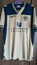 Leeds United 2013/2014 Away Shirt Macron Size. L