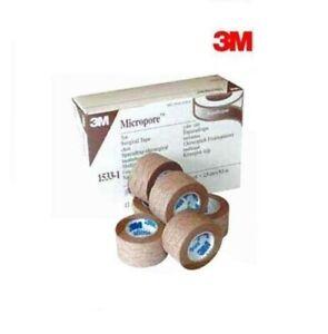 3M Micropore TAN Surgical Tape 1.25cm or 2.5cm Genuine Choose Size & Quantity