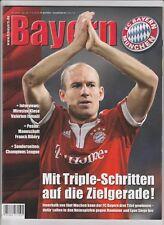 Orig.PRG  Champions League  2009/10  BAYERN MÜNCHEN - OLYMPIQUE LYON  1/2 FINALE