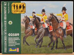 Revell Vintage 1/72 - # 02589 Preubisches Kurassier Reg't K2 Nap War - mint 2005
