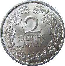 J320  2 Mark Weimar von 1925 A in f.STG   667 010
