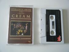 CREAM STRANGE BREW THE VERY BEST OF CASSETTE TAPE 1983 PAPER LABEL RSO UK