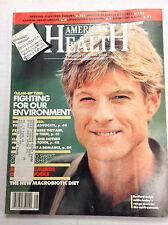 American Health Magazine Robert Redford May 1988 020817RH