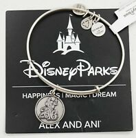 New Alex And Ani Disney Parks 2016 Sorcerer Mickey Silver Bangle Bracelet