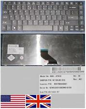 Qwertz-tastatur US Interaktive ACER TM8371 TM8471 NSK-AT01D 9Z.N3L82.01D