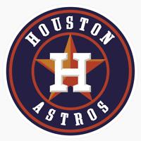Houston Astros Primary #3 Logo MLB DieCut Vinyl Decal Sticker Buy 1 Get 2 FREE