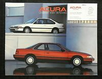 """1988 ACURA LEGEND & INTEGRA"" SALES CATALOG BROCHURE BROOKFIELD WI WISCONSIN NMT"