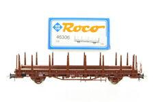 H0 Roco 46306  DB Rungenwagen Güterwagen  boxcar +OVP/I28
