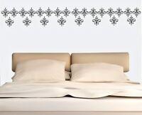 Damask Pattern Wall Stickers Art  Removable Home Decor Set of 50 Vinyl  Decor