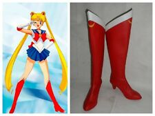 Sailor Moon Sailormoon Serena Cosplay Costume Boots Boot Shoes Shoe