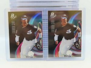(2) 2018 Bowman Platinum Luis Robert Top Prospects Lot White Sox V29