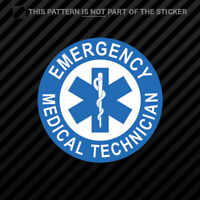 EMT Emergency Medical Technician Sticker Self Adhesive Vinyl star of life #1