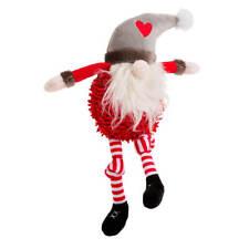 House of Paws Christmas Pom Pom Santa Dog Toy   Noodle Squeaky Festive Medium