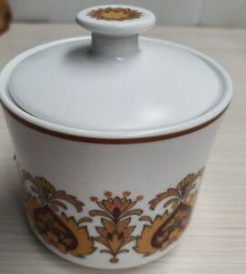 Vintage Noritake Progression Protea Lidded Sugar Bowl 9067 1973-80 Made in Japan