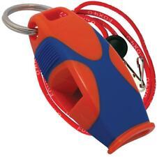 Fox 40 SHARX Marine Safety Alert Rescue Whistle ORANGE/BLUE LANYARD BEST VALUE!