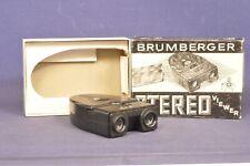 Brumberger Stereo Viewer 1265 / Batterie betrieben in OVP / Stereo Betrachter