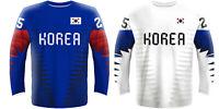 NEW 2019 Korea Hockey Jersey DALTON RADUNSKE AHN KIM SWIFT PARK LEE IIHF NHL