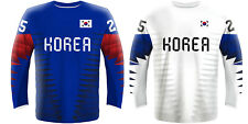 NEW 2020 Korea Hockey Jersey DALTON RADUNSKE AHN KIM SWIFT PARK LEE IIHF NHL