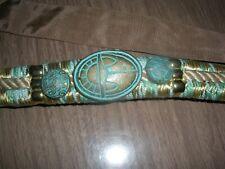 Vintage Designer Turquoise Belt