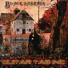 Black Sabbath Guitar Tab SELF TITLED Lessons on Disc Ozzy